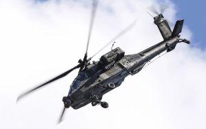 Desktop Wallpaper: Black helicopter