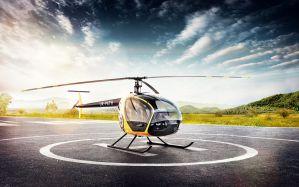 Desktop Wallpaper: Helicopter