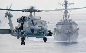Desktop Wallpaper: Seahawk helicopter