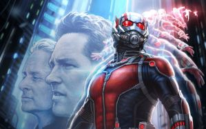 Desktop Wallpaper: Ant man superhero