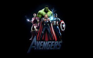 Desktop Wallpaper: Avengers characters ...
