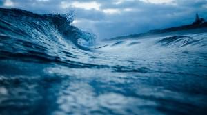 Desktop Wallpaper: Blue wave