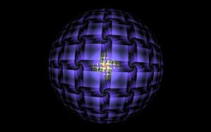 Desktop Wallpaper: Ball fractal