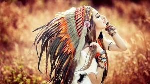 Desktop Wallpaper: Native american indi...