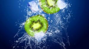 Desktop Wallpaper: Green and white frui...