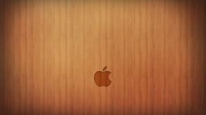 Desktop Wallpaper: Apple brand logo