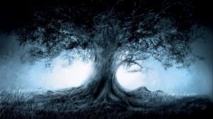 Desktop Wallpaper: Tree artwork