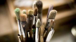 Desktop Wallpaper: Paint brush lot