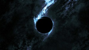 Desktop Wallpaper: Black hole illustrat...