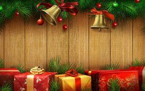 Desktop Wallpaper: Christmas decorative