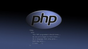 Desktop Wallpaper: Php logo