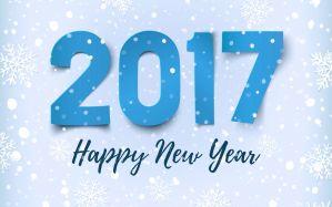 Desktop Wallpaper: 2017 Happy New Year