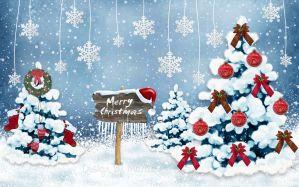 Desktop Wallpaper: Merry Christmas