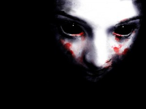 Desktop Wallpaper: Bloody Face