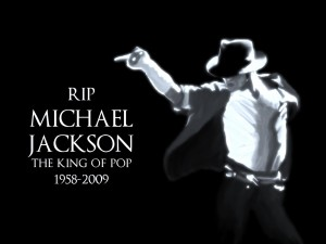 Desktop Wallpaper: The King of Pop Musi...