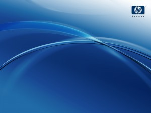 Desktop Wallpaper: HP Clean Blue