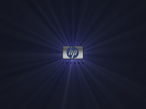 Desktop Wallpaper: HP Silver