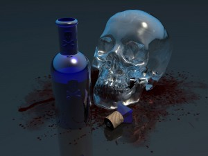Desktop Wallpaper: Poisonous Alcohol