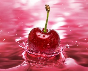 Desktop Wallpaper: Ripe Cherry