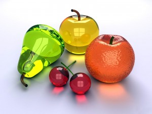 Desktop Wallpaper: 3D Fruits