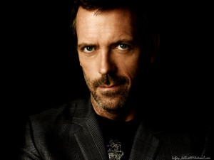 Desktop Wallpaper: Charming Hugh Laurie