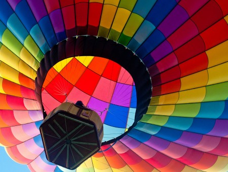 Under the Dome of the air-balloon