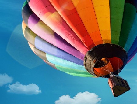 Rainbow Air-balloon