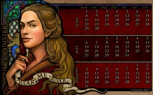 Desktop Wallpaper: Cersei Lannister fro...