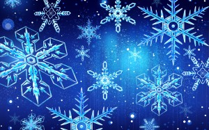 Desktop Wallpaper: Christmas Snowflakes