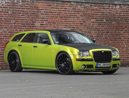 Chrysler 300 Wagon >> Green Black Chrysler 300 Wagon Wallpapers Every Day