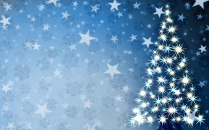 Desktop Wallpaper: White Christmas Tree...