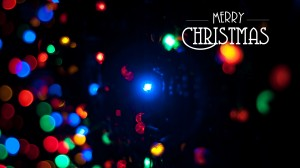 Desktop Wallpaper: Merry Christmas Text