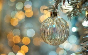 Desktop Wallpaper: Clear Glass Christma...