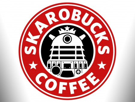 Skarobucks Coffee Logo