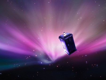 Purple Police Box