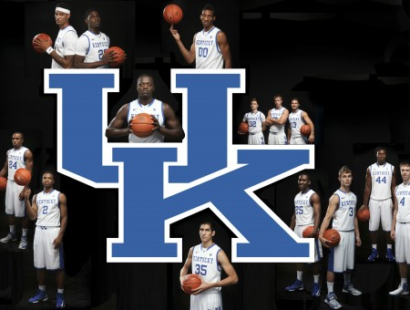 University Of Kentucky Basketball Players Poster