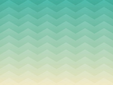 Mint Ombre Chevron Pattern
