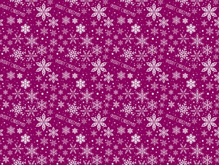 Pink And White Snowflake Pattern Textile