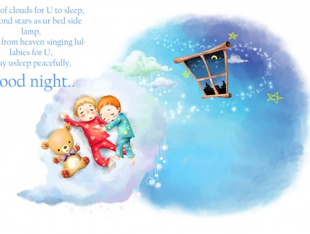 Children's Good Night Poem