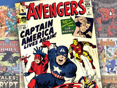 The Avengers Captain America Lives Again Comic Book