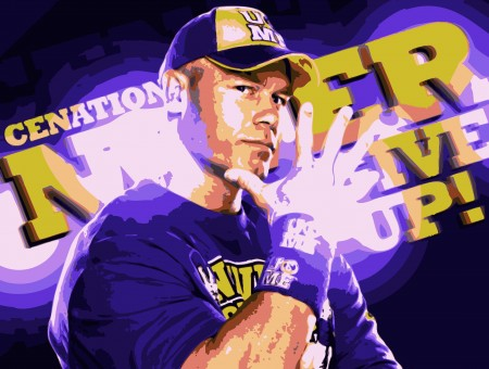 Jon Cena High Saturation Effect Photo Edit