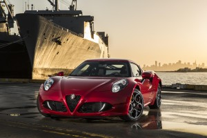 Desktop Wallpaper: Red Alfa Romeo 4c Pa...