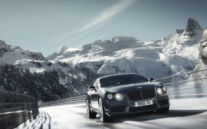 Desktop Wallpaper: Bentley Continental ...