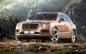 Desktop Wallpaper: Brown Bentley Car