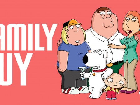 Family Guy Pink Poster
