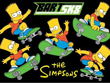 Bart Sk8 The Simpson