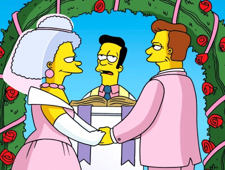 The Simpsons Pastor Character