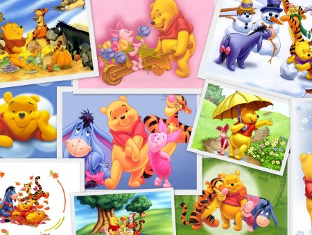 Winnie The Pooh And Friends Illustration