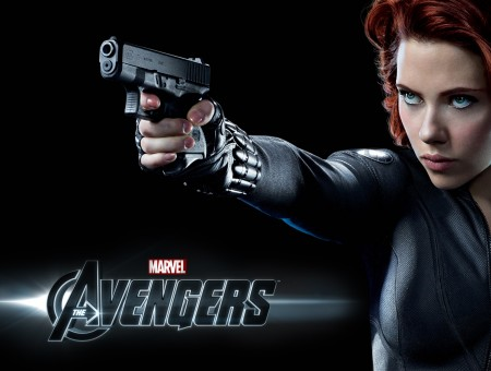 Scarlet Johansson As Black Widow In Avengers