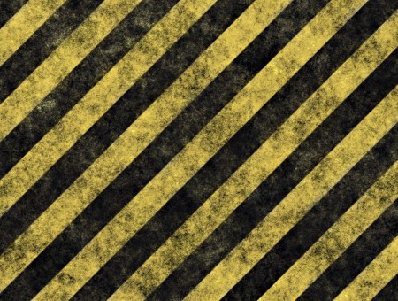 Yellow And Black Stripes Illustration